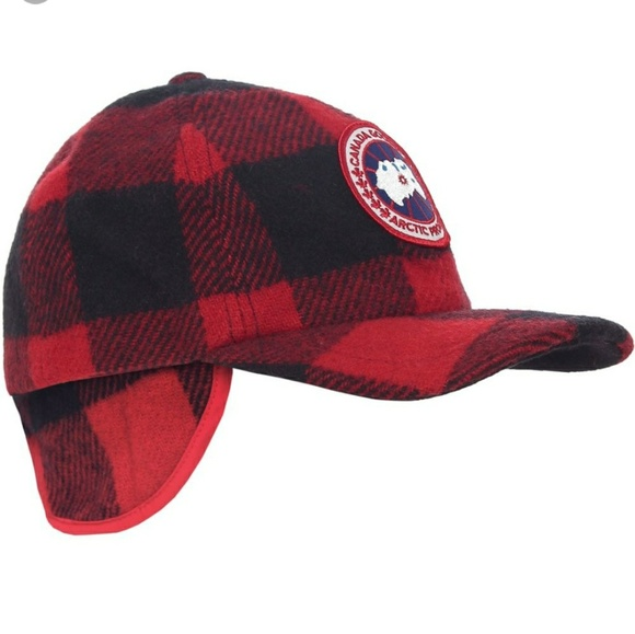 Canada Goose Other - Canada Goose plaid Woodsy Merino hat e06aed68991